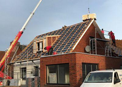 Fertiger Dachsparren
